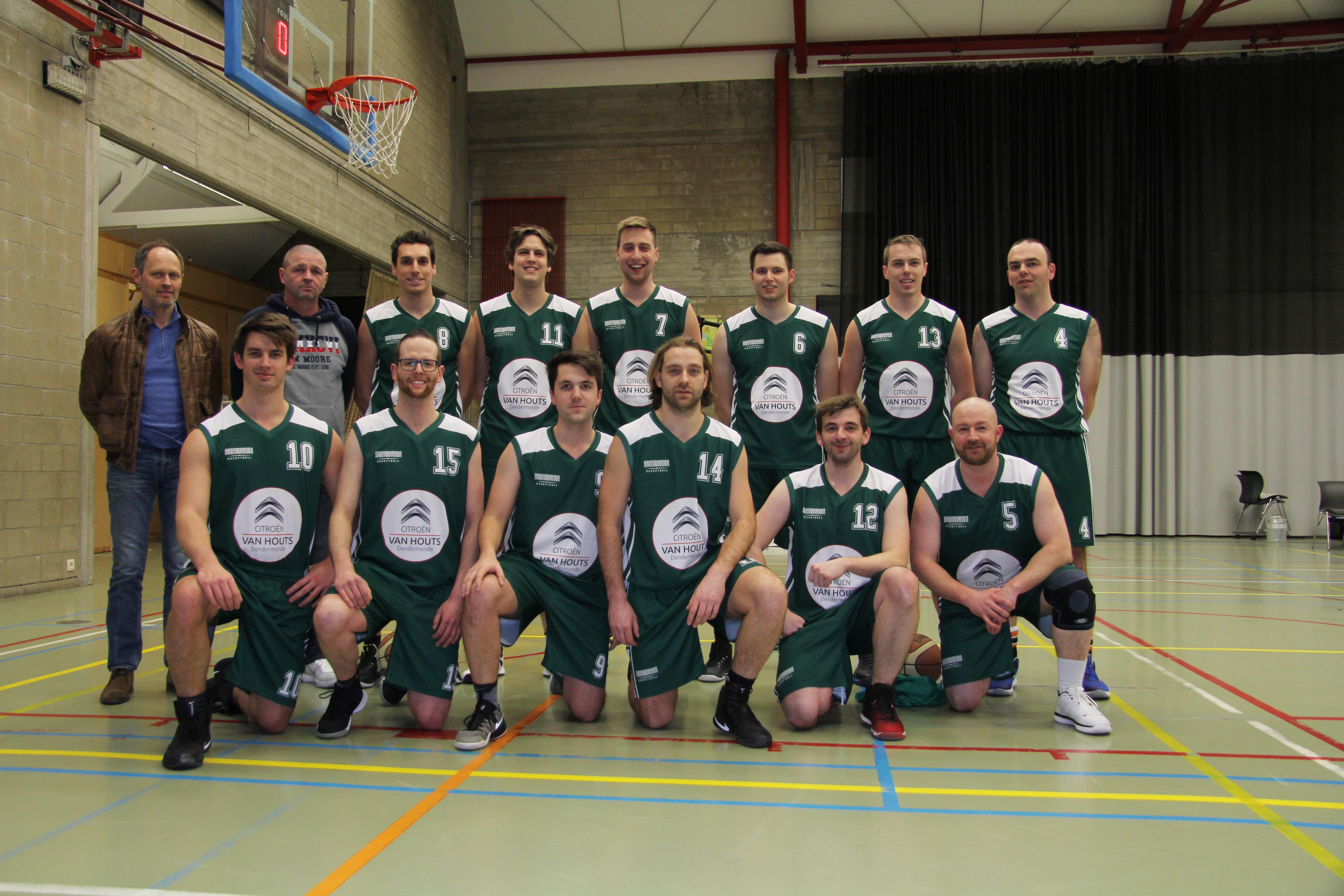 ploegfoto Heren A seizoen 2017 - 2018